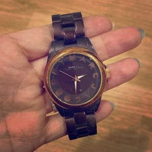 Rose Gold & Brown Marc by Marc Jacob Watch